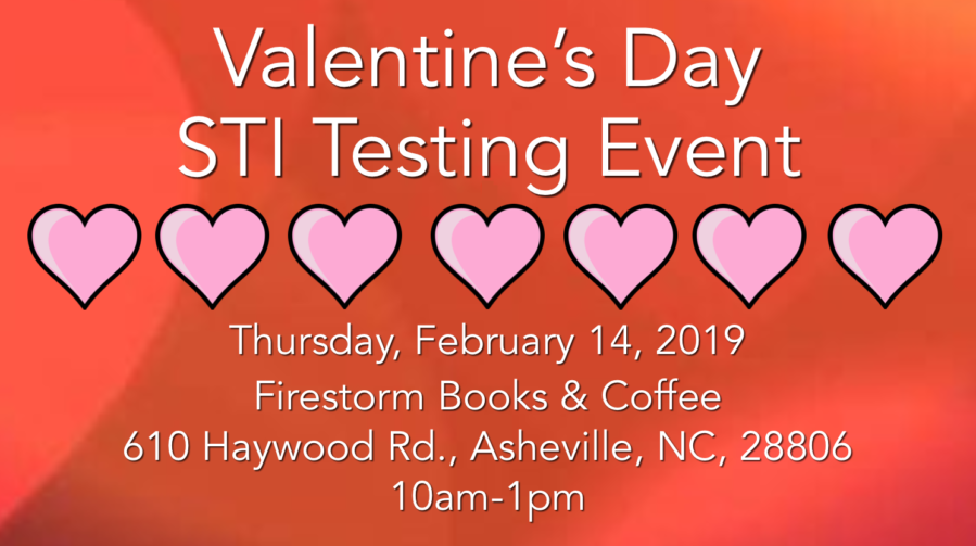 WNCAP Valentine's Day Testing Event for HIV and STIs